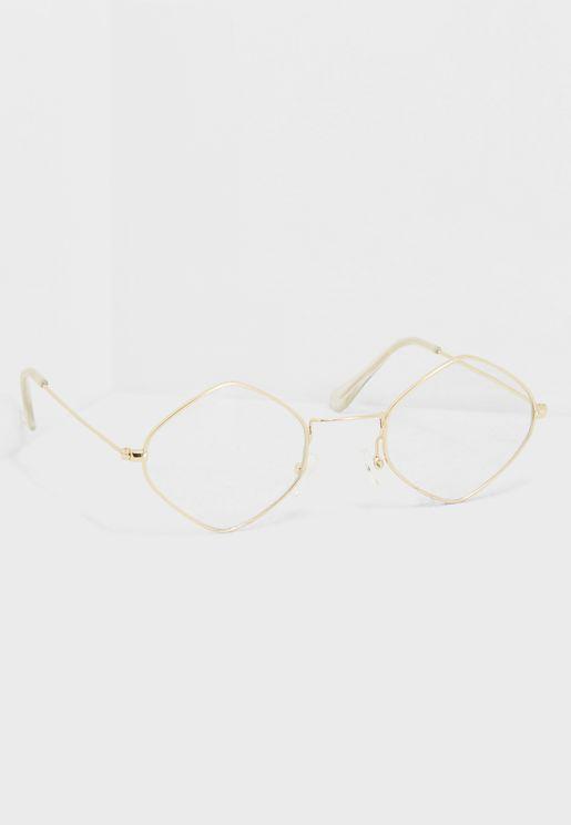 Diamond Shape Glasses