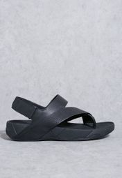 0b9b254e574 Shop Fitflop black Sling Perf Sandals H05-090 for Men in Kuwait -  FI008SH15JIE