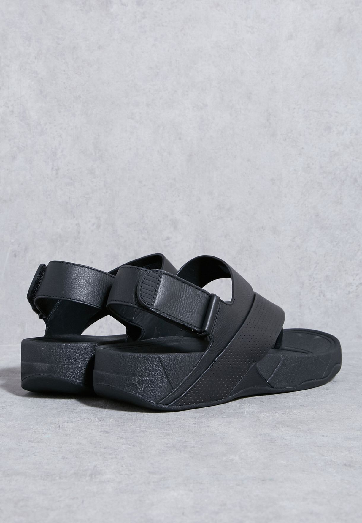 e01f14bac69 Shop Fitflop black Sling Perf Sandals H05-090 for Men in Kuwait ...