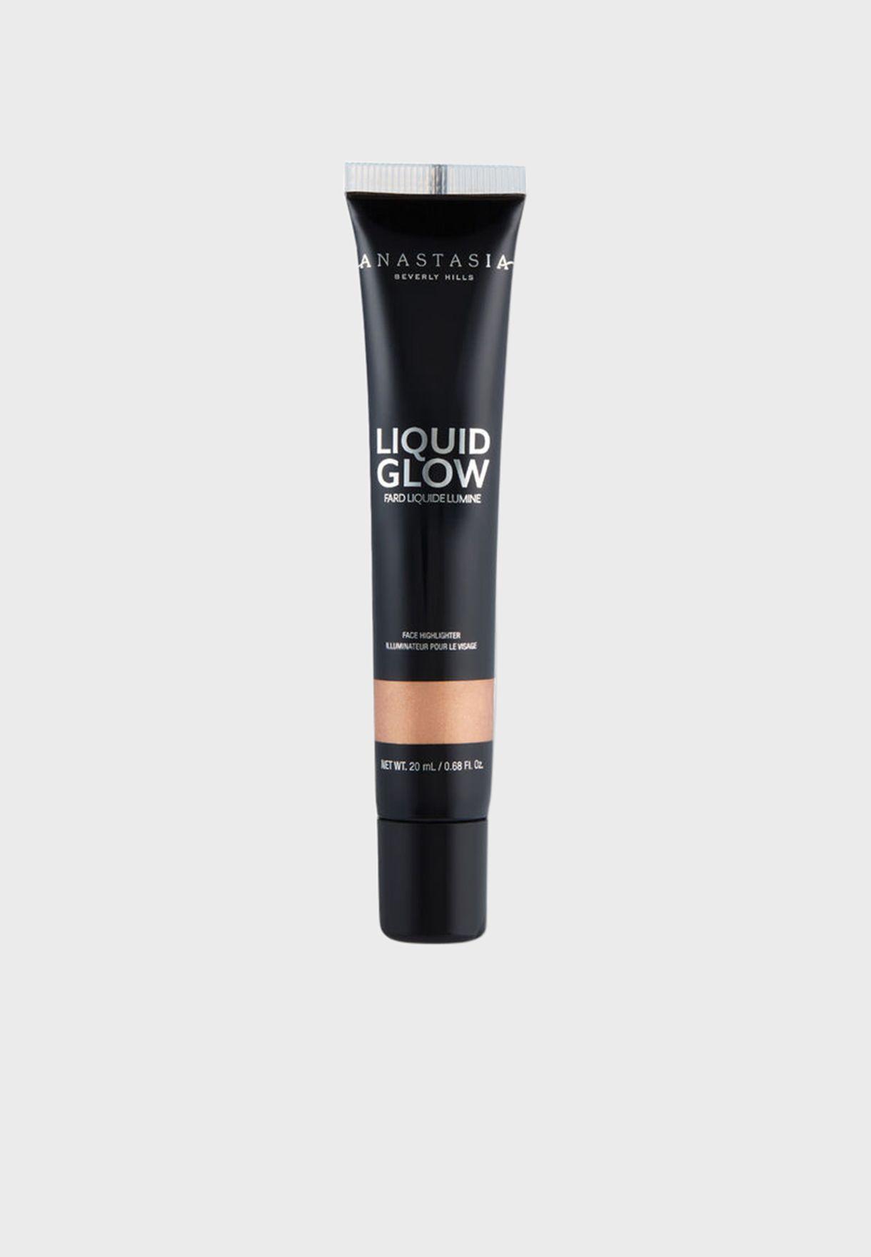 Liquid Glow Highlighter - Peach Fizz