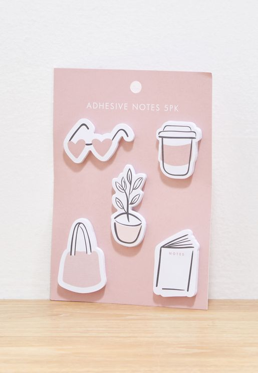 5 Pack Your Story Adhesive Notes