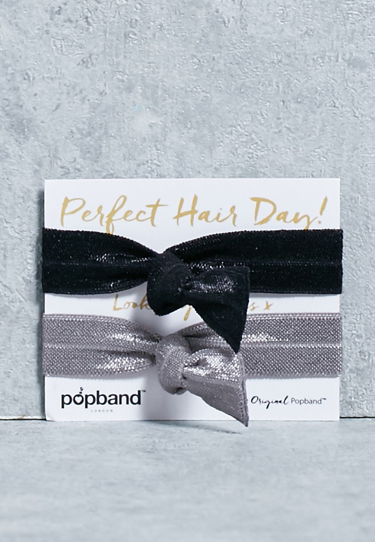 Shop Popband London multicolor 2 Pack Perfect Hair Ties 2PER for Women in  Qatar - PO024AC15XMM aa331f0c9f0