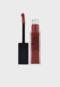 Color Sensational Vivid Matte Liquid Lipstick #37