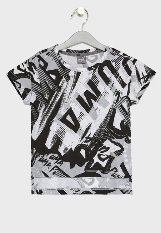 Kids Style AOP T-Shirt