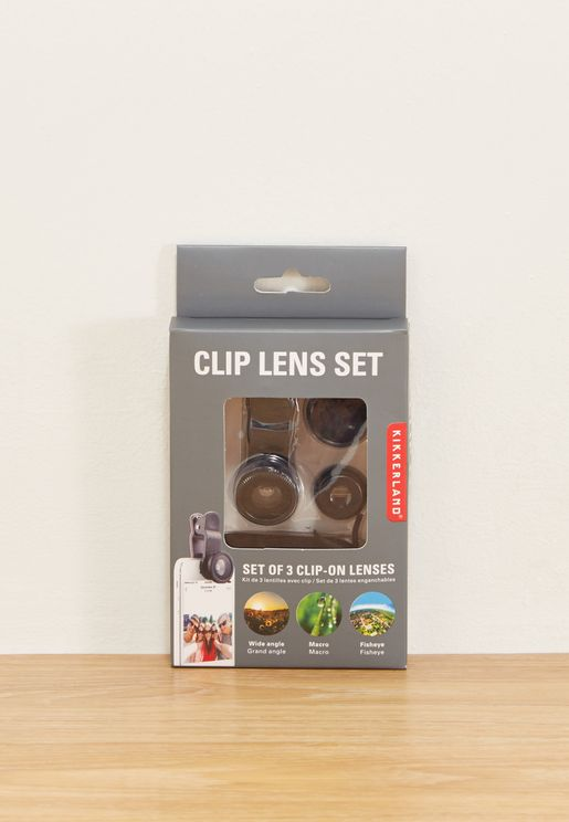 3 Pack Phone Lens Kit