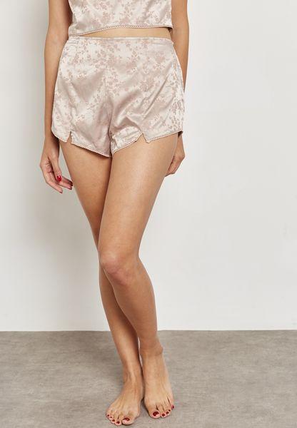 Jacquard Pyjama Shorts