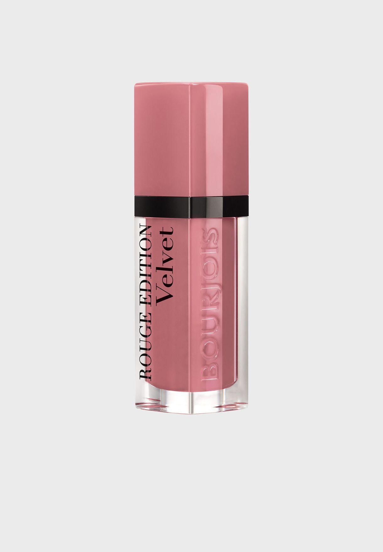 Rouge Edition Velvet Liquid lipstick 09 Happy Nude Year