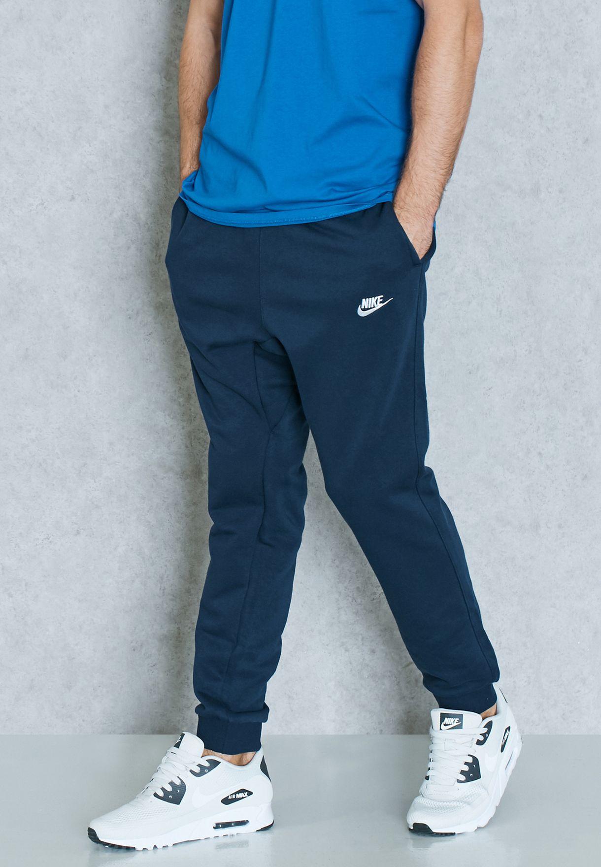 884e4d17a20d Shop Nike navy Club Sweatpants 804465-451 for Men in UAE - NI727AT15BPG