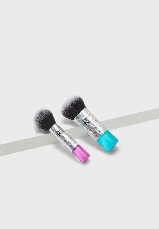 Mini Grab & Glow Brush Set