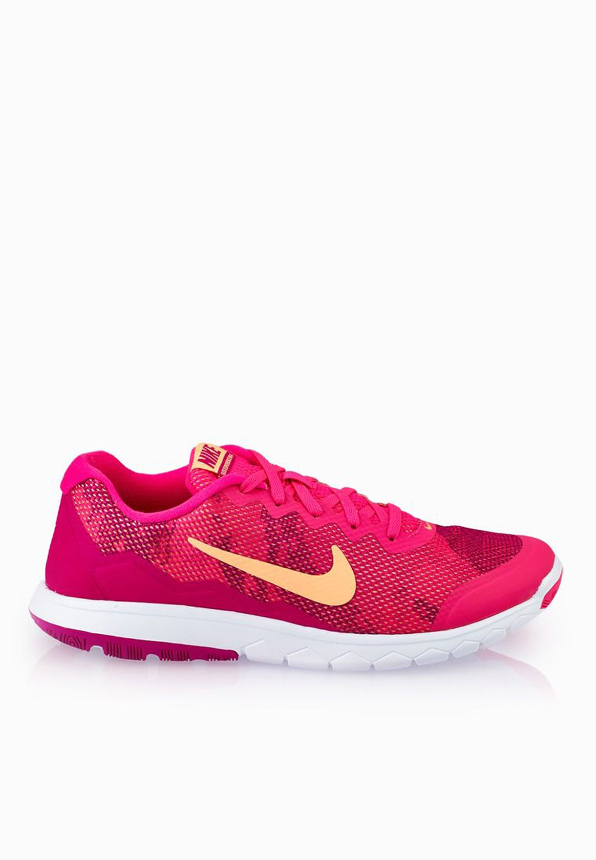 f18de0e03a90c Shop Nike pink Flex Experience Rn 4 Prem 749177-600 for Women in Bahrain -  NI727SH15TEE