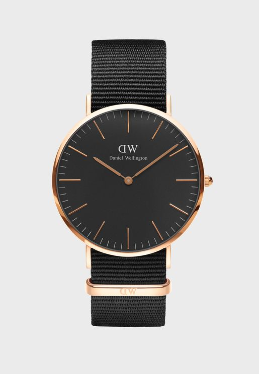 Cornwall Classic Watch 40mm Rose Gold