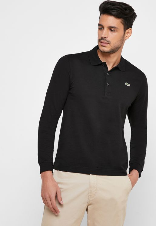 Ribbed Polo