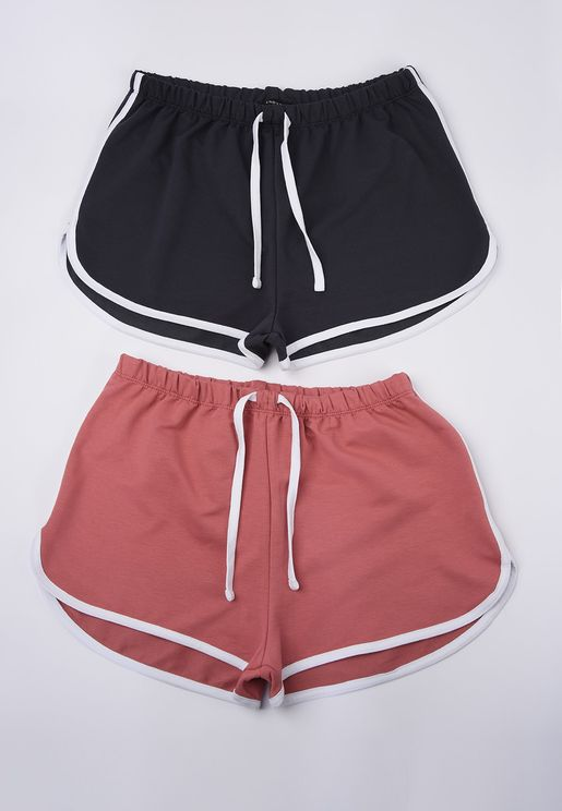 2 Pack Mini Shorts