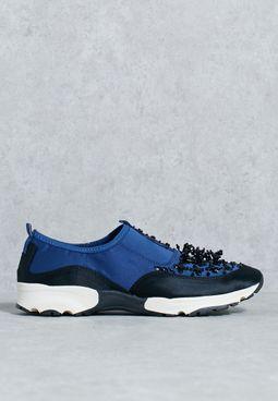 Lola Satin Sneakers