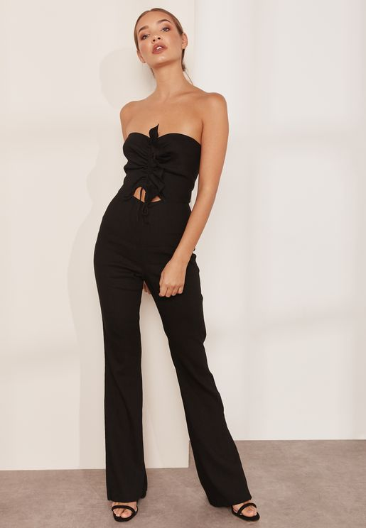 Superbe Bandeau Cut Out Jumpsuit