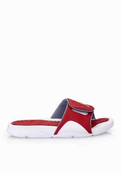 b6c78900d ... Shop Nike red Jordan Hydro 4 705163-116 for Men in UAE ...