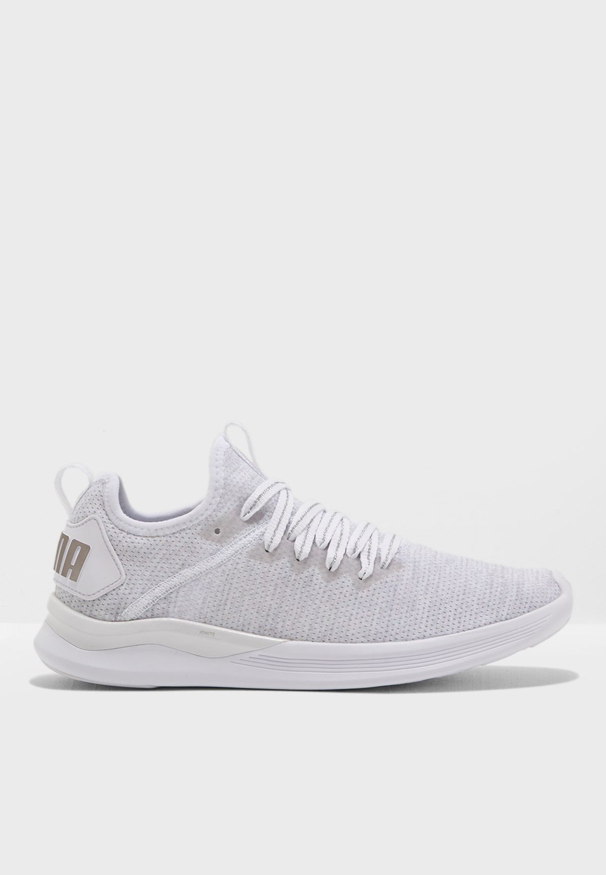 8850057c69658e Shop PUMA grey En Pointe Ignite Flash evoKNIT 19096102 for Women in Kuwait  - PU020SH05DCS