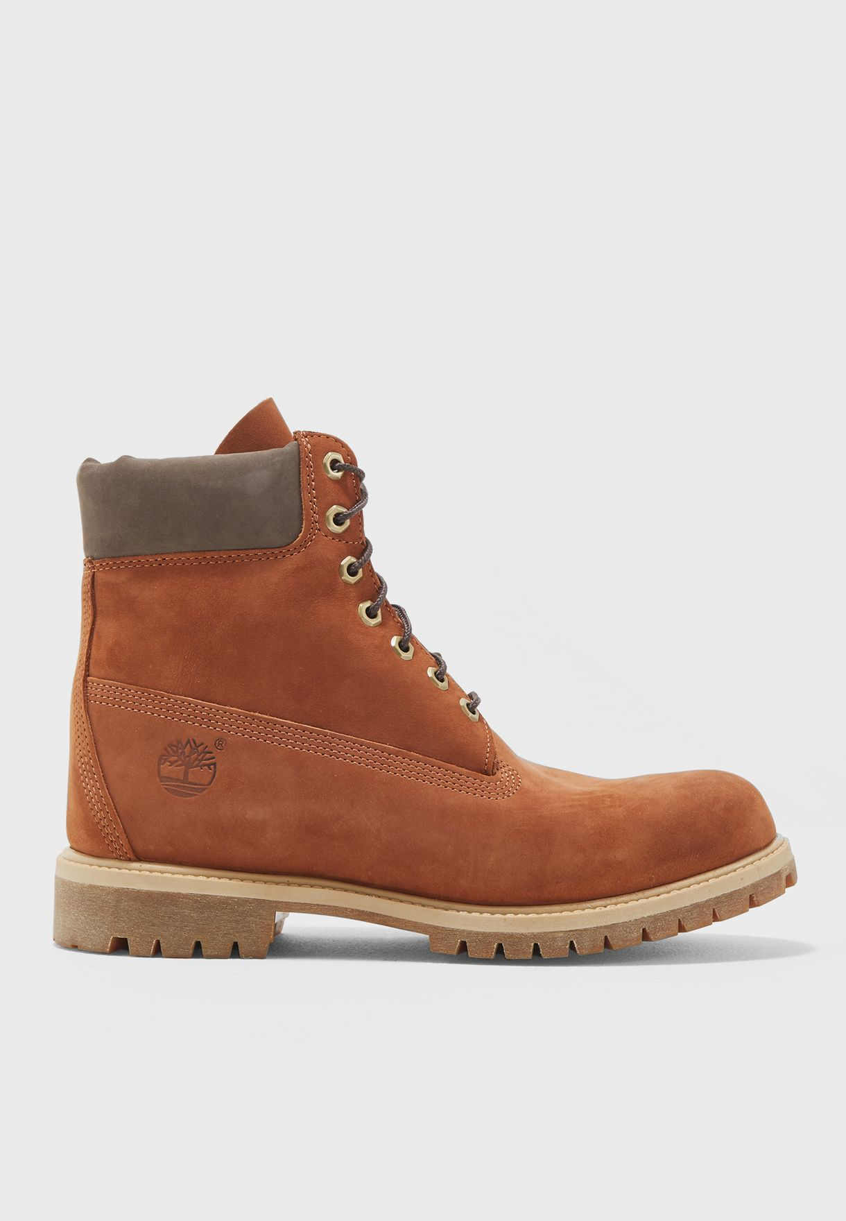 384702ffb2a83 Shop Timberland browns 6 quot  Premium Boot TMA1LXUW for Men in ...