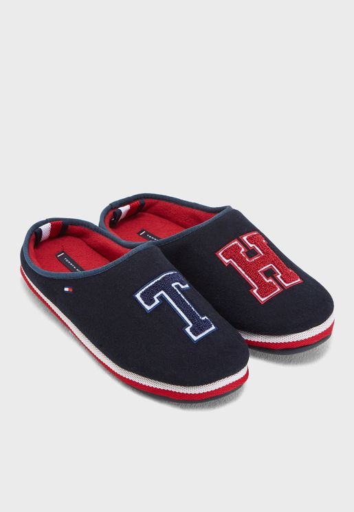 TH Badge Bedroom Slippers