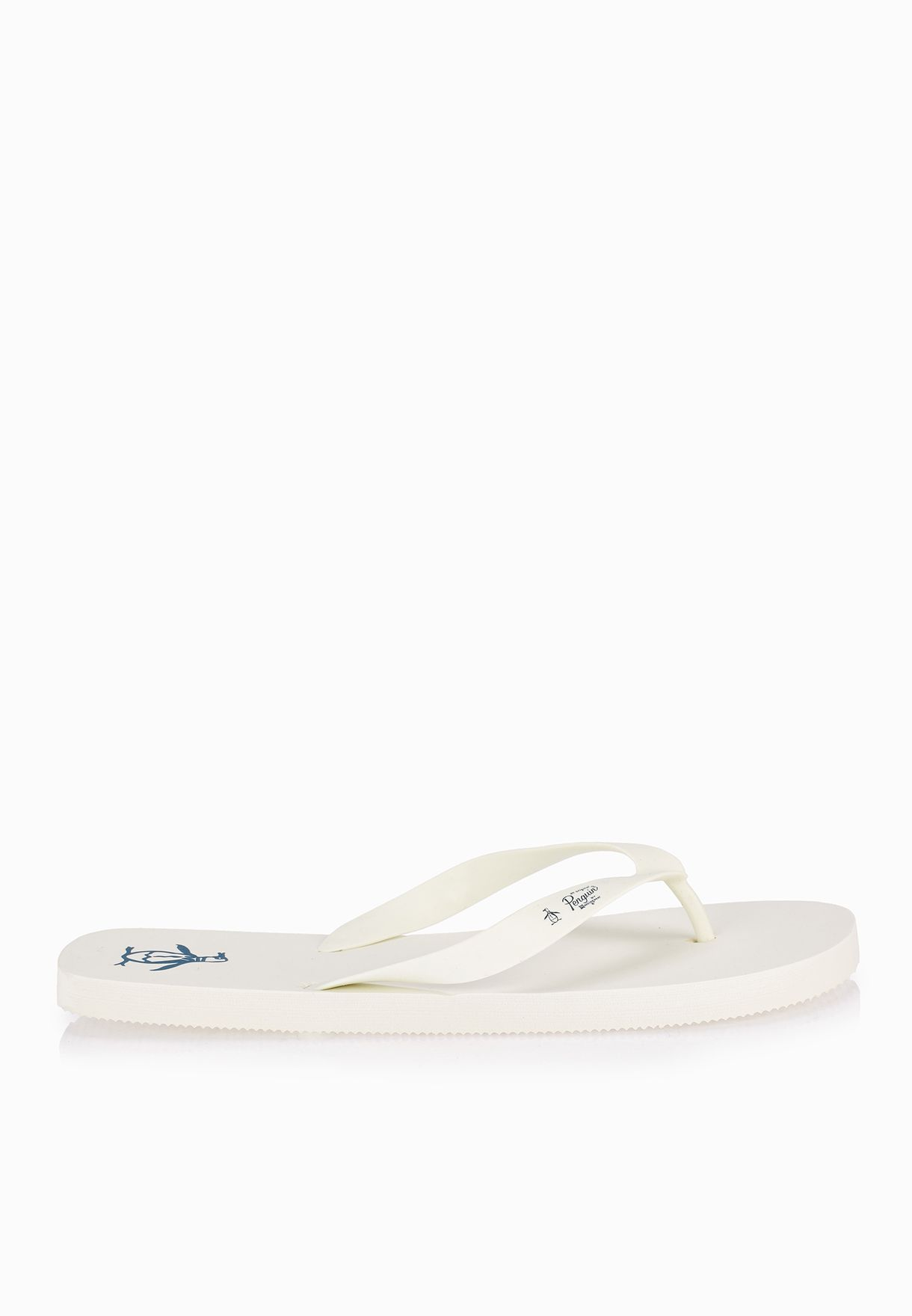 7956530909ac09 Shop Original Penguin white Pacific Flip Flops for Men in Qatar -  OR822SH05GSK