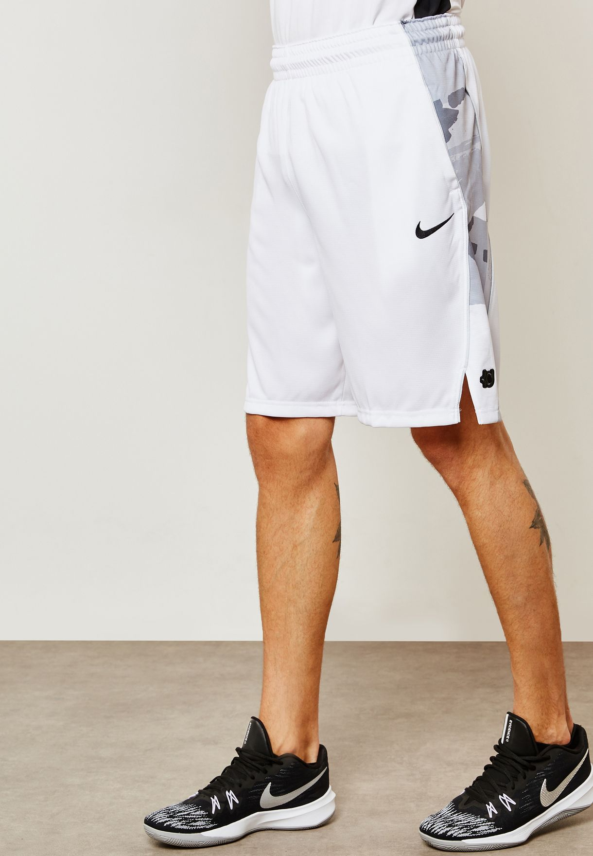 e00df7cd0909 Shop Nike white KD Elite Shorts 926214-100 for Men in UAE - NI727AT05LXM