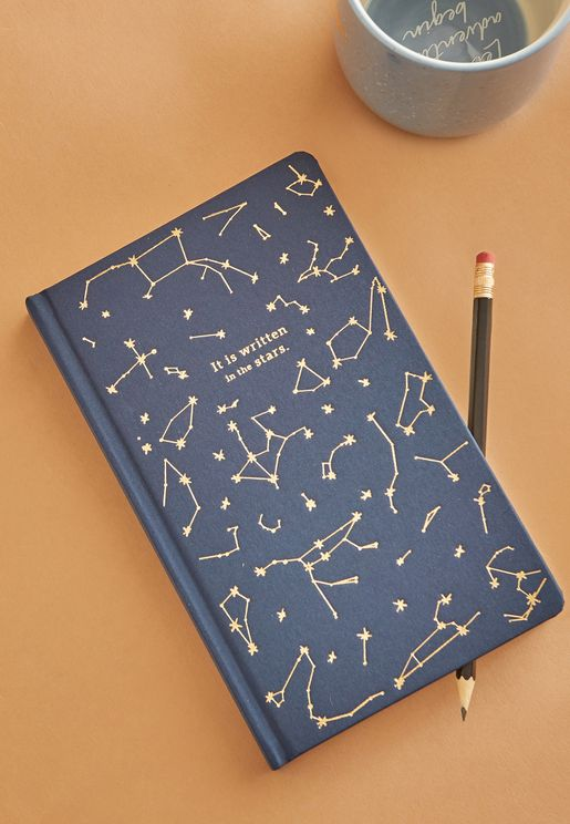 It's Written In The Stars Constellations Notebook