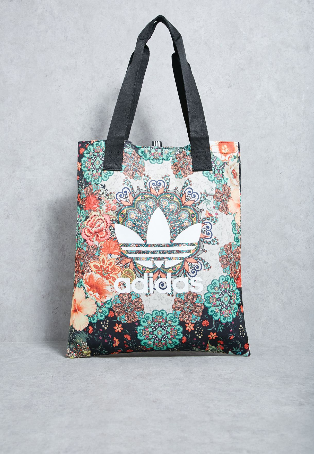 78867da44b Shop adidas Originals prints Floral Print Shopper BR4142 for Women ...