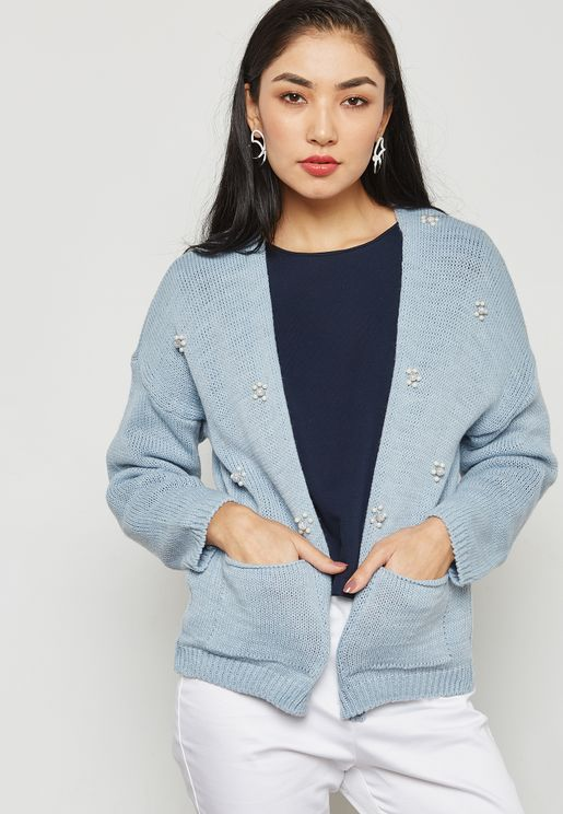 Pearl Pocket Cardigan