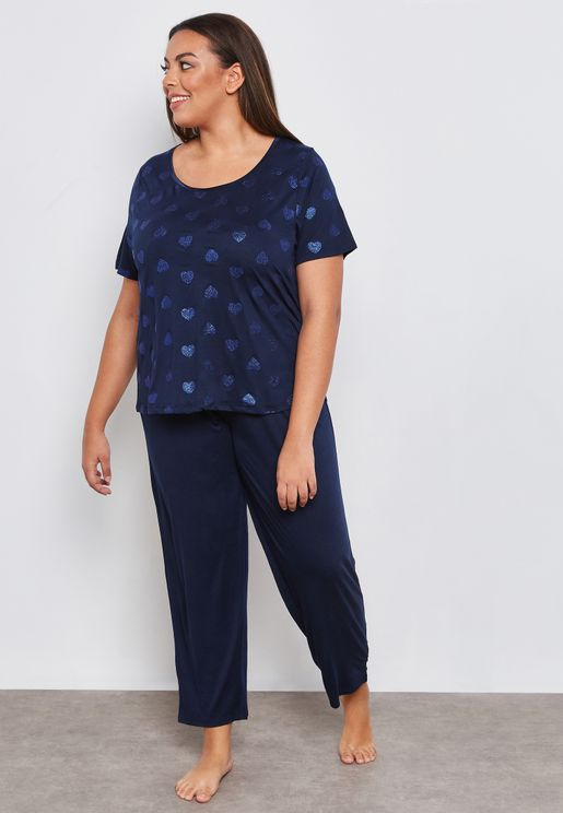 ... 18 20 · 22 24 · Heart Print Pyjama Set 0f767877b