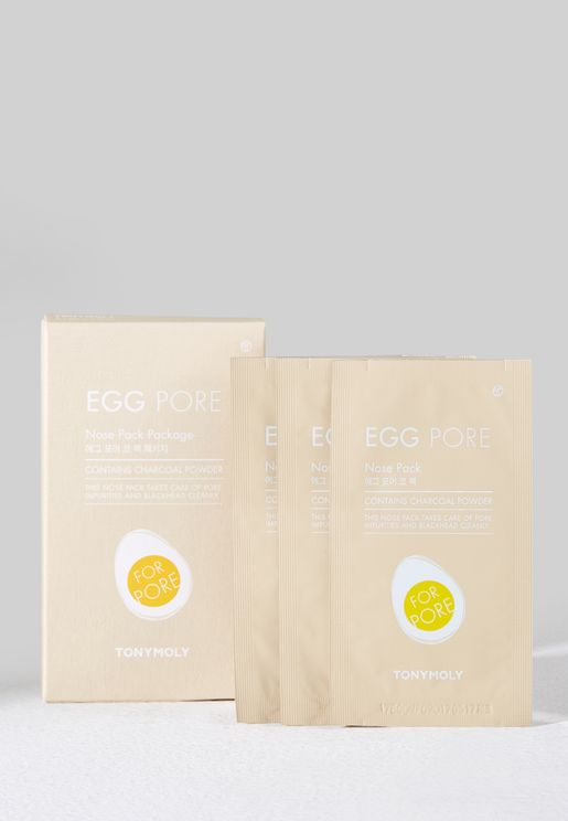 Egg Pore Nose Pack Package (7 Sheets)