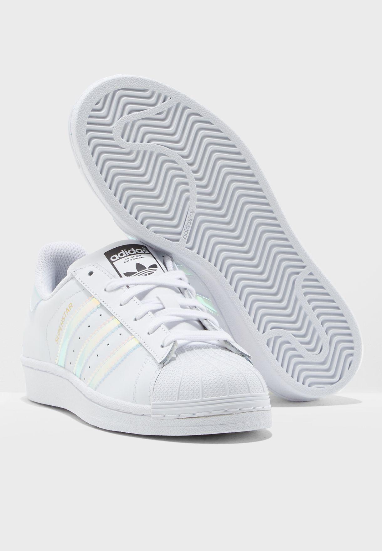be4d09ca5 تسوق حذاء سوبر ستار للشباب ماركة اديداس اورجينال لون أبيض AQ6278 في ...