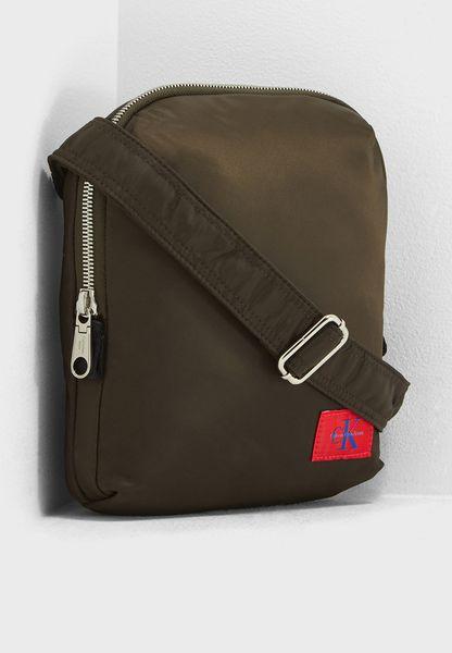Pilot Twill Flat Backpack