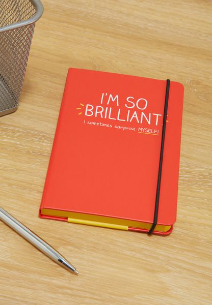 A6 I'M So Brilliant Notebook