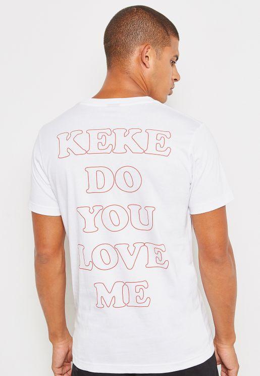 Keke Do You Love Me Drake T-Shirt