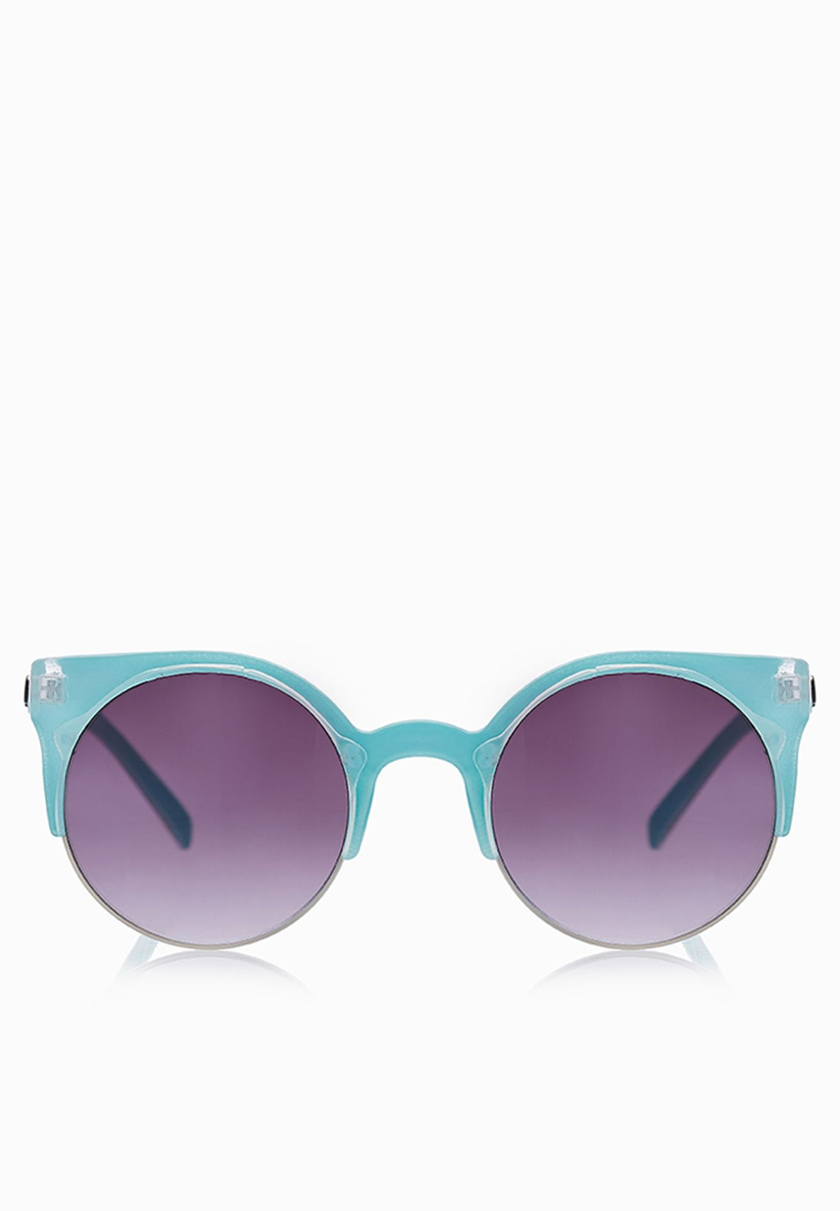 7c23183fe7 Shop Quay Australia blue Harlm Sunglasses for Women in UAE ...