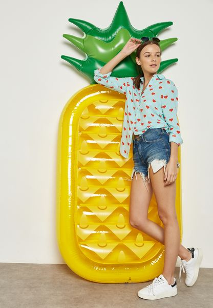 Pineapple Lie-On Float Tube