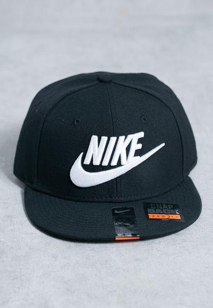 b7bc16f84902df Shop Nike black True Snapback Cap 584169010 for Men in UAE on sale ...