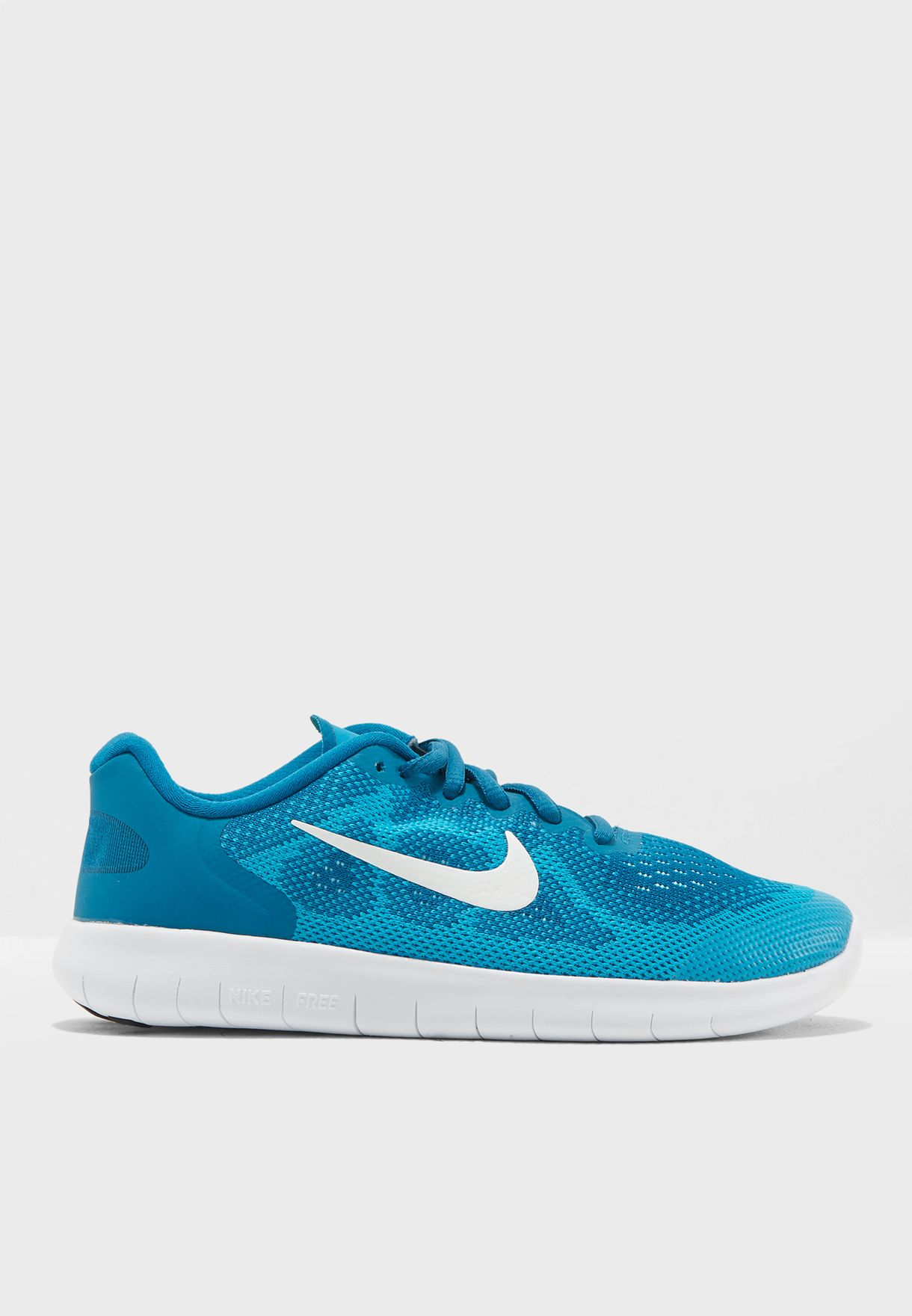 d123c4418e74 Shop Nike blue Free RN 2017 Youth 904258-301 for Kids in UAE ...