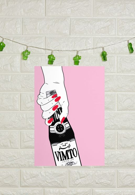 A3 Vimto Poster