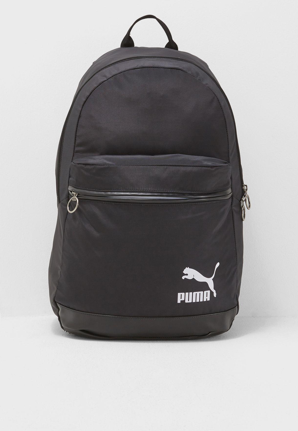 b2a6fe05fe45 Shop PUMA black Originals Backpack 07508601 for Men in Bahrain ...