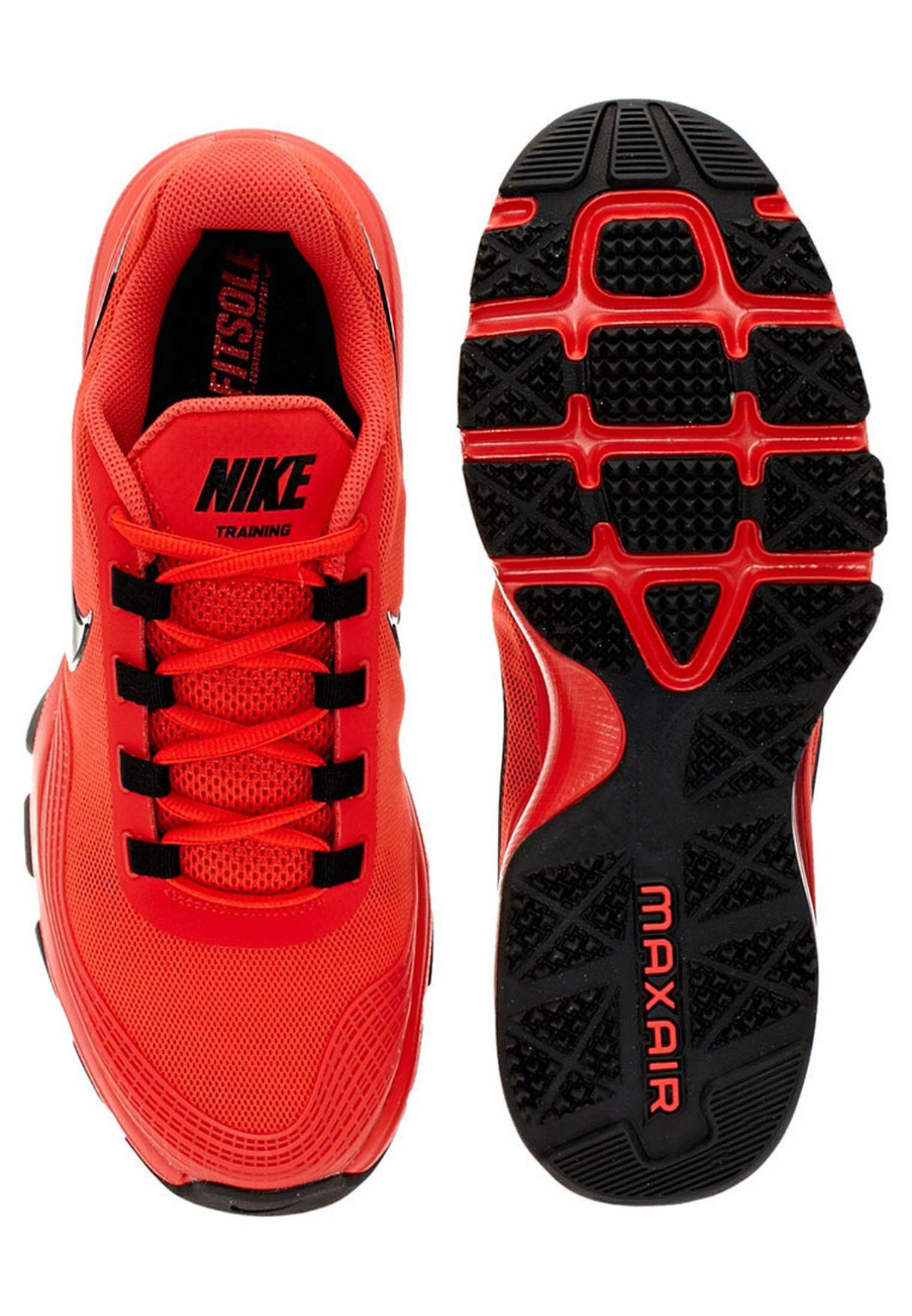 36835590f تسوق حذاء اير ماكس ماركة نايك لون أحمر 615995-600 في السعودية ...