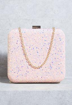 Barbie Glitter Box Clutch