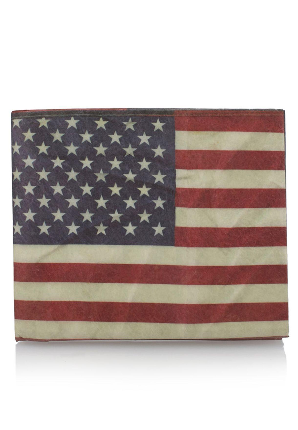 Flag Mighty محفظة
