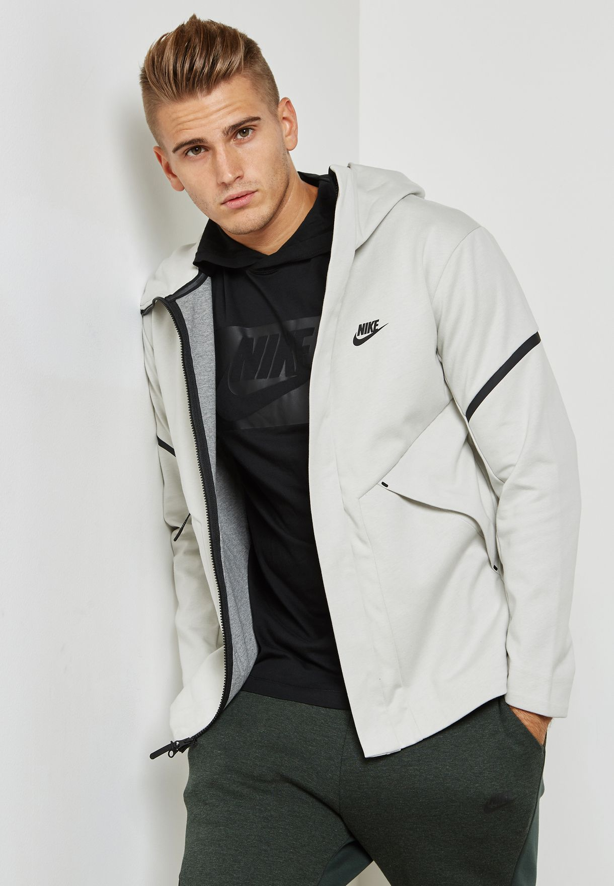 Buy Nike Grey Tech Fleece Jacket For Men In Manama Other Cities 867658 072