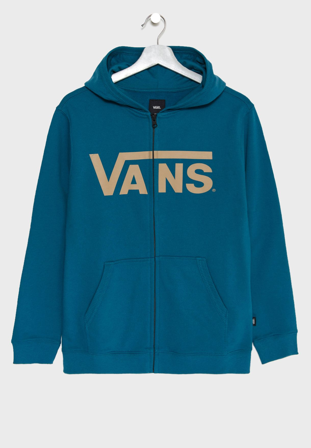 96d5355a7a43 Shop Vans blue Kids Classic Hoodie V00J6LRQB for Kids in Qatar -  VA088AT05GAO