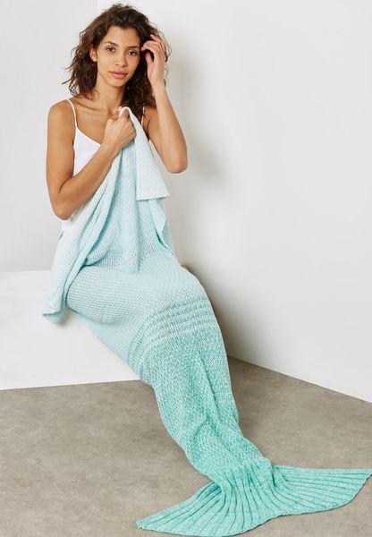 بطانية بشكل حورية البحر