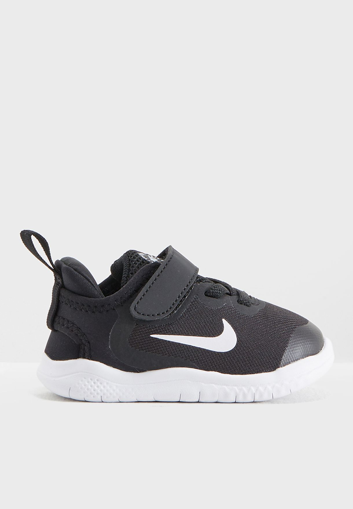 cfb2516e6a23 Shop Nike black Infant Free RN 2018 AH3453-003 for Kids in Kuwait ...