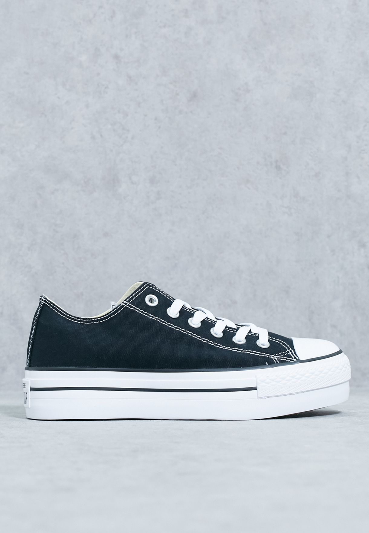 8836c0811786 Shop Converse black Chuck Taylor All Star Platform 540266C-001 for Women in  Bahrain - CO049SH05MPE