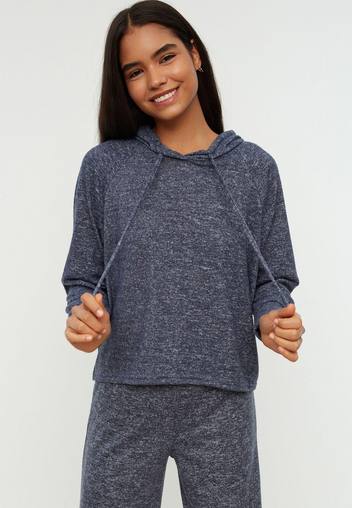 Textured Pyjama Set