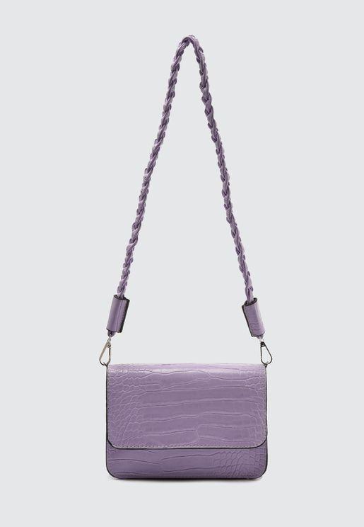 Plain Crossbody Bag